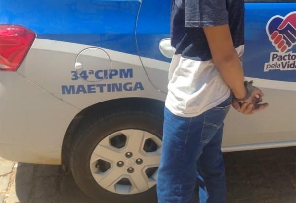 Maetinga: foragido da justiça de São Paulo é preso no centro da cidade