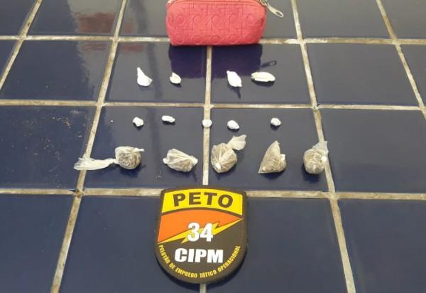 Brumado: Polícia Militar apreende drogas durante rondas no bairro Irmã Dulce