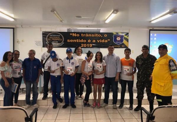 SMTT realiza abertura da Semana Nacional de Trânsito de Brumado