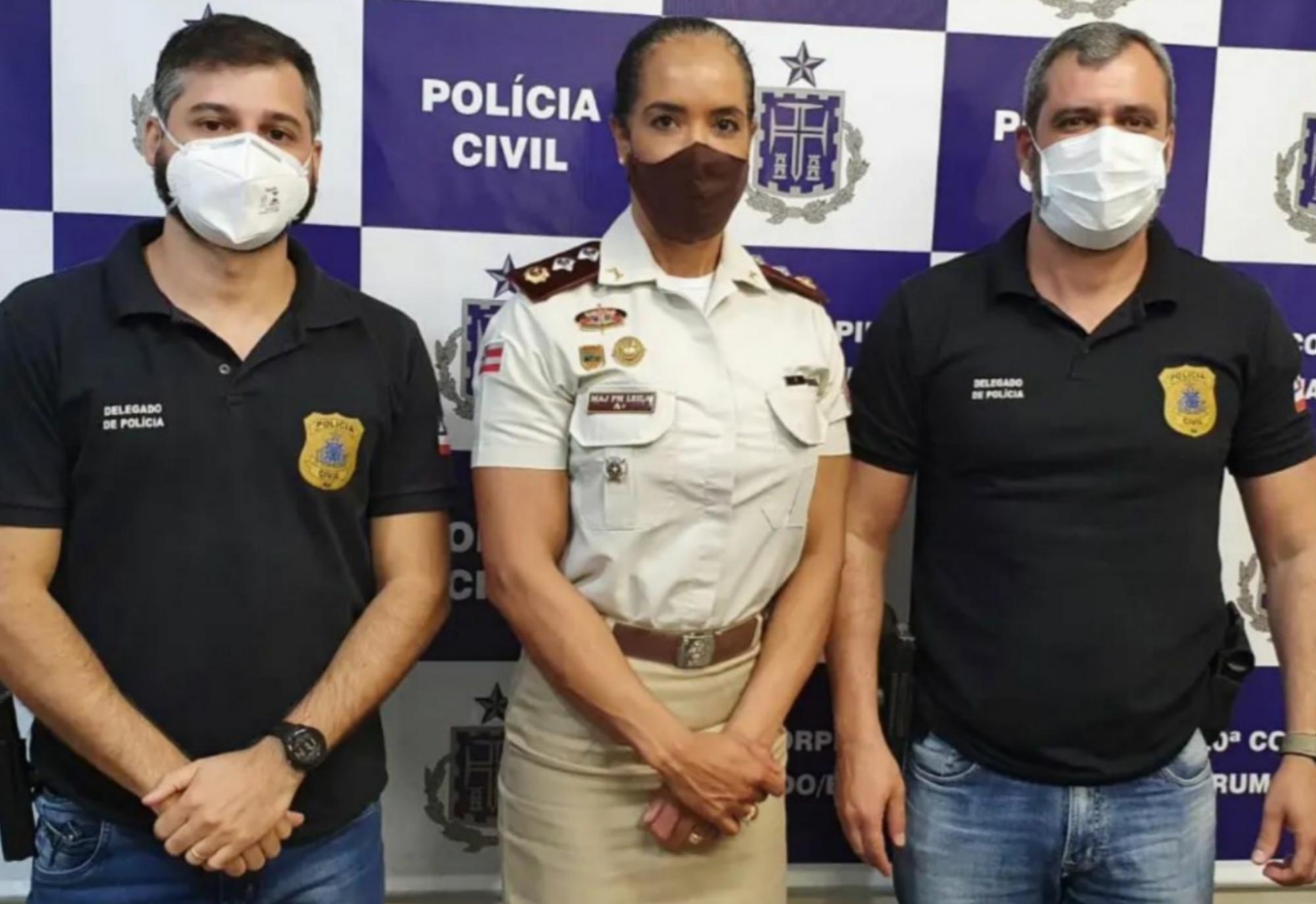 Brumado: Major PM Leila realiza sua primeira visita institucional à 20ª Coorpin