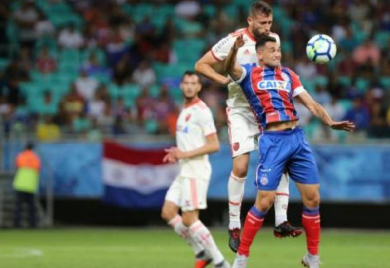 Bahia empata com Flamengo em duelo na Fonte