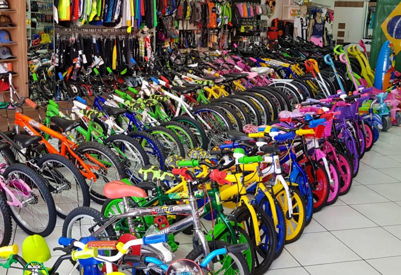 Beto Bike Sports: presentei o seu filho com lindas bicecletas no Dia das Crianças