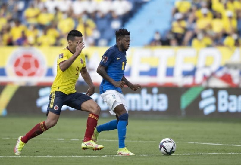 Brasil empata com a Colômbia pelas Eliminatórias