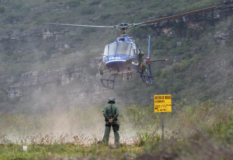 VÍDEO: Após seis dias de combate na Chapada Diamantina, Corpo de Bombeiros sinaliza controle dos incêndios na região