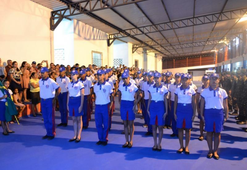 Brumado: cerimônia marca a inauguração doEMTIda Escola Idalina Azevedo