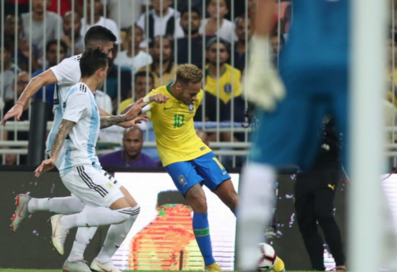 Brasil vence a Argentina por 1x0 na Arábia Saudita