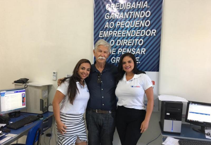 Prefeito de Brumado visita agência do CrediBahia e comemora sucesso da entidade que vem fomentando a economia local