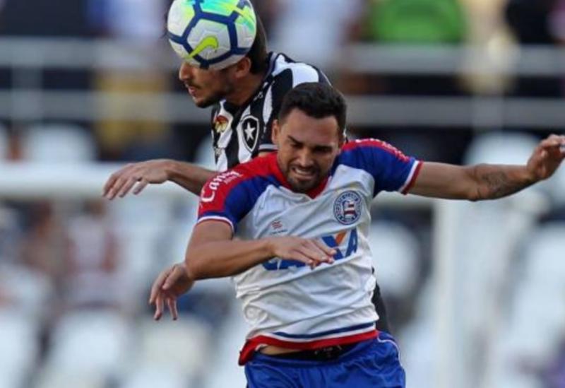 Bahia vence o Botafogo por 1 a 0 e sobe na tabela