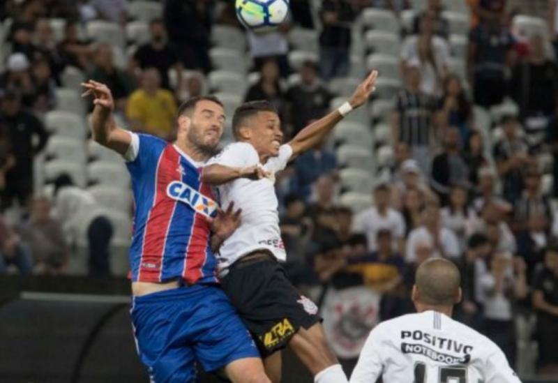 Bahia toma gol no fim e perde para o Corinthians