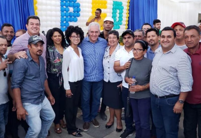 Ex-prefeita de Barra da Estiva, 'Dona Lúcia' filia-se ao PSD em evento com as presenças do senador Otto Alencar e deputado Marquinho Viana