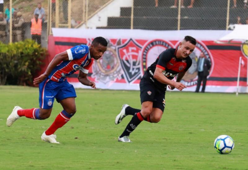 Vitória e Bahiaempatam em 2 a 2 pelo Campeonato Brasileiro da Série A