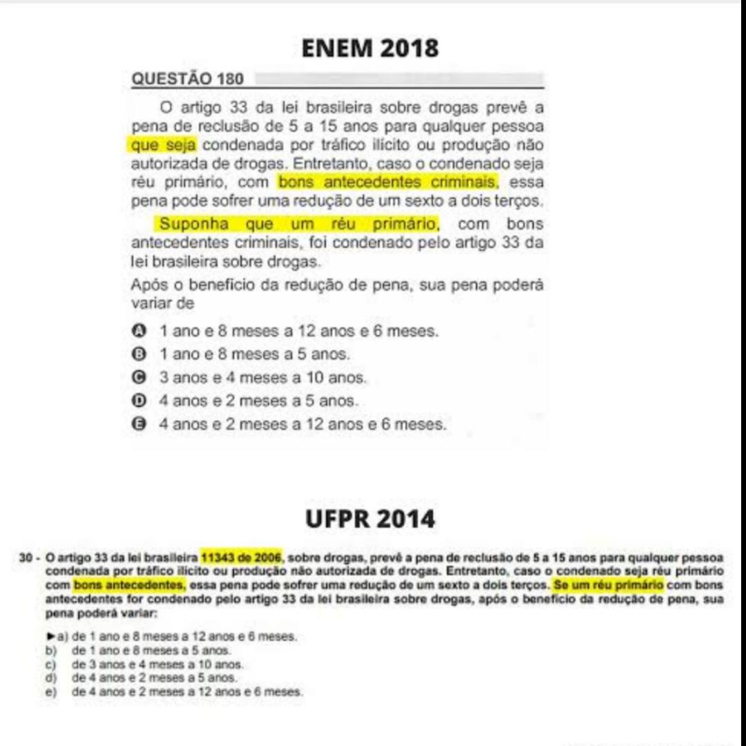MEC cancela questão de matemática do Enem que já tinha sido usada