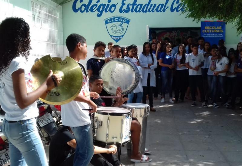 Projeto Escolas Culturais promove atividades emTanhaçu