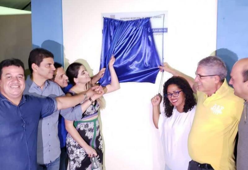 Deputado Marquinho Viana participa de inauguração de obras em Rio de Contas