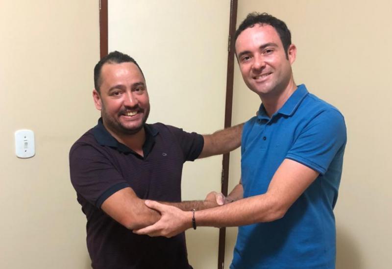 Principal liderança do Democratas na região, Fabrício Abrantes recebe apoio de novos filiados ao partido