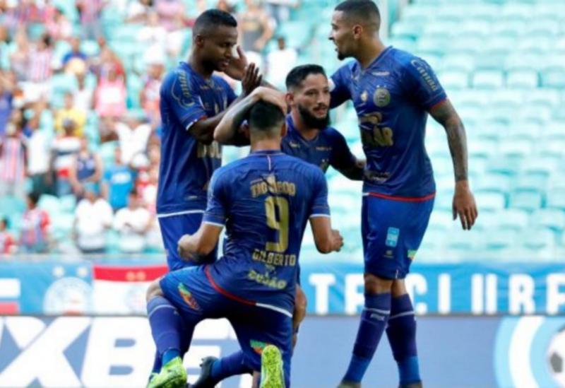 Bahia empata com o Palmeiras na Fonte
