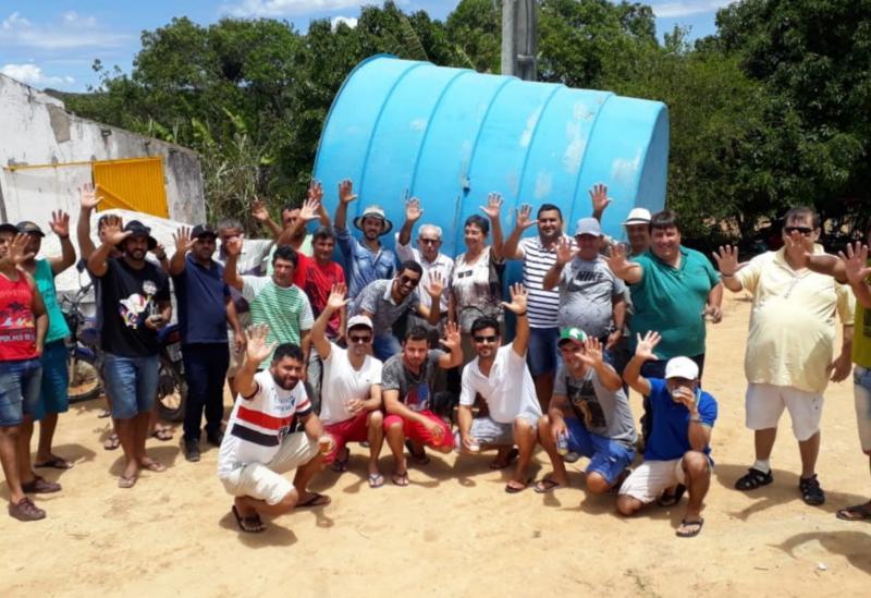 Barra da Estiva: Deputado Marquinho Viana e Dona Lúcia viabilizam construção de sistema de água na comunidade Saltador deFraso