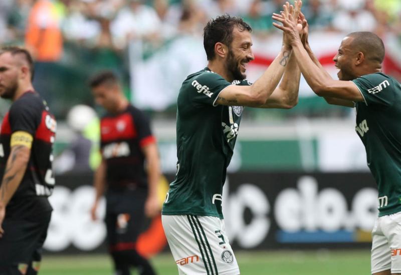 Vitória perde para o Palmeiras, por 3 a 2, em São Paulo