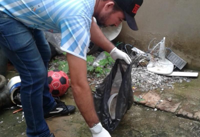 Brumado: Secretaria Municipal de Saúde realizou a Semana do Mutirão de Limpeza de Combate a Dengue
