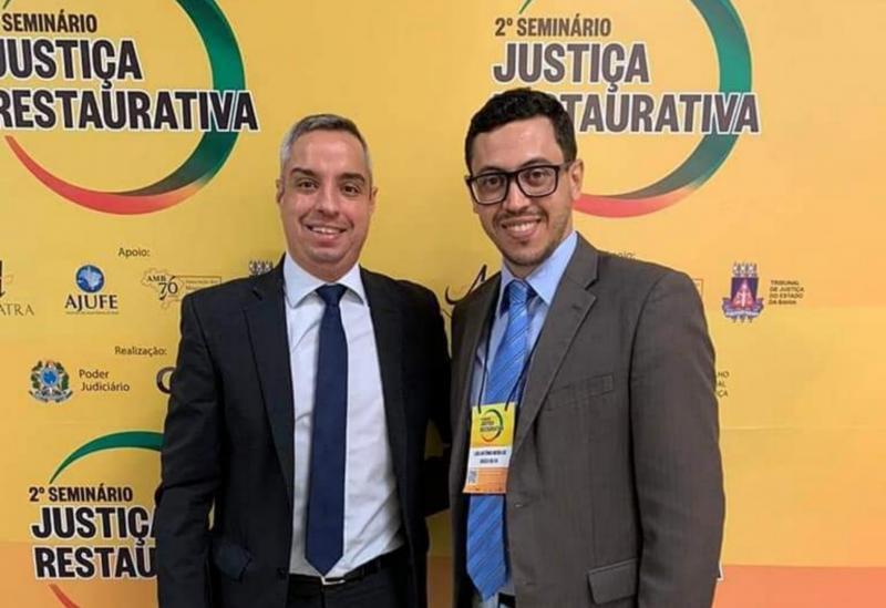 CEJUSC-Brumado participa do 2º Seminário sobre a Política Nacional de Justiça Restaurativa e, apresenta Oficina do Projeto Ama Maria