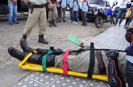 BDO: POLICIAL EM PERSEGUIÇÃO SOFRE ACIDENTE DE MOTO