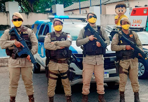 Brumado: Polícia Militar participa da campanha 'Maio Amarelo'