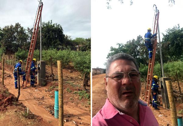 Léo Vasconcelos e prefeito de Brumado unem forças e poço artesiano para a Comunidade de Samambaia já é uma realidade