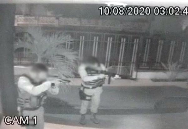 Polícia Militar frusta assalto a clínica em Brumado; veja o vídeo