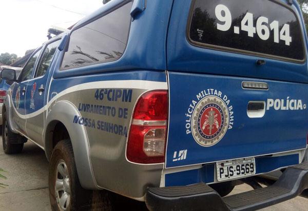 Polícia Militar localiza em Livramento  indivíduo com mandado de prisão em aberto