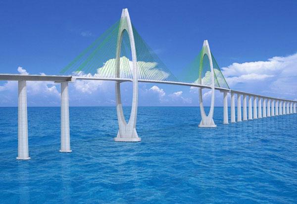 Governo do Estado publica aviso de licitação da Ponte Salvador - Itaparica