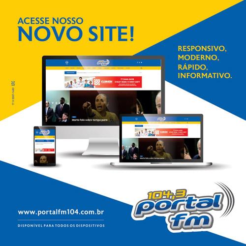 Livramento: novo site da Rádio Portal FM 104,3 já está no ar