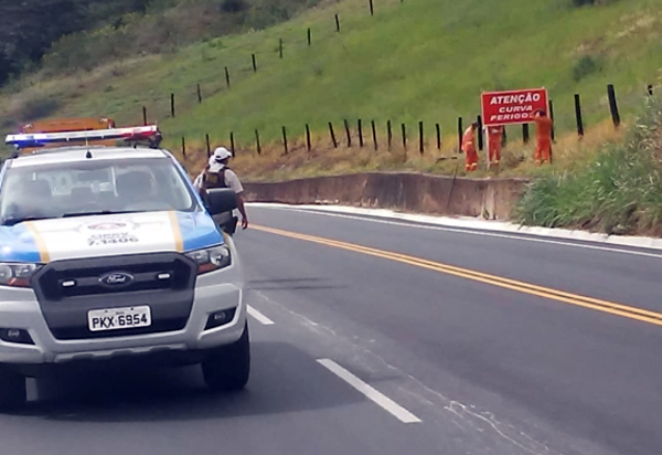 Novas placas de sinalização são colocadas na Serra do Marçal para evitar acidentes