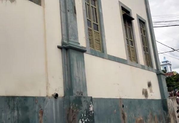Prefeitura de Brumado intensifica as obras de recuperação de importantes prédios históricos do município