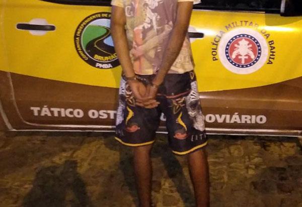 Brumado: jovem é detido pela PRE após furtar moto no Parque de Exposições