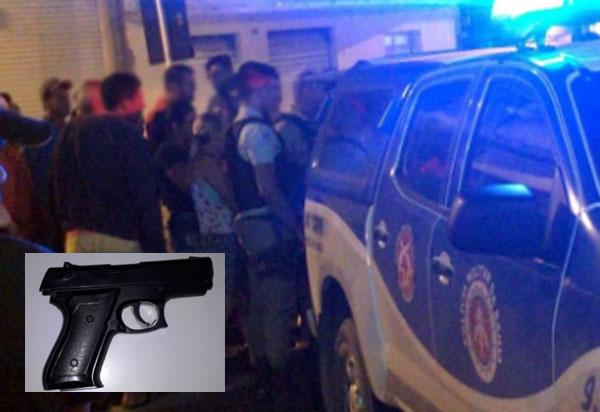 Rio do Antônio: dupla é detida momentos após roubar posto de combustíveis em Ibitira