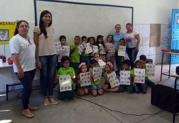 Brumado: Programa Saúde na Escola foi realizado na Escola Miriam Meira na Lagoa Funda