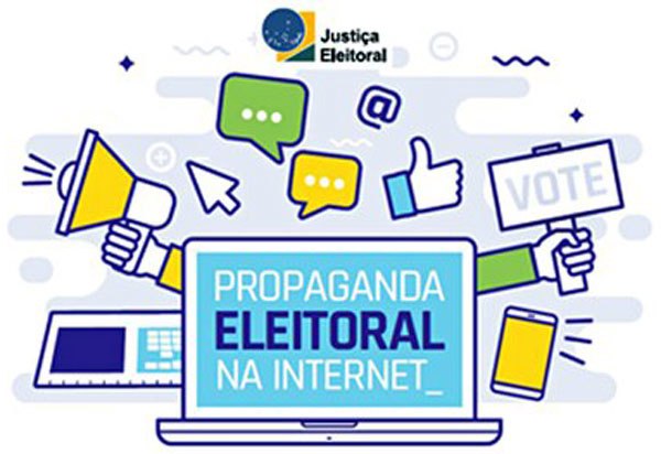 Cartilha interativa orienta sobre propaganda eleitoral na internet