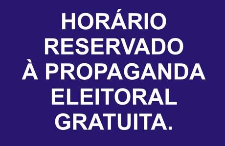 2012: PROPAGANDA ELEITORAL GRATUITA COMEÇA DIA 21