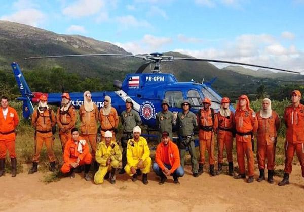 Ituaçu: incêndio na Serra do Boqueirão é controlado