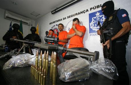 Desarticulada maior quadrilha de assalto a banco na Bahia