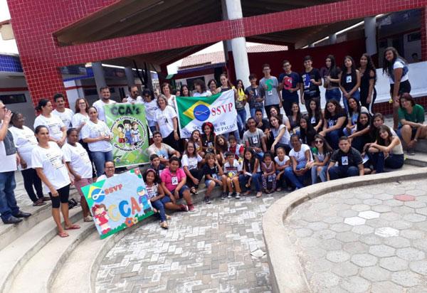 SSVP realizou encontro de Recrutamento Missionário Vicentino em Aracatu