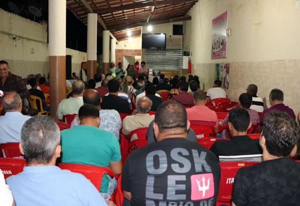 Visando eleições 2020 Tiago Amorim realiza reunião em Brumado