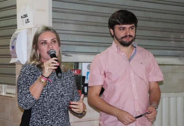 Ivana declara apoio à pre candidatura de Tiago Amorim à prefeitura de Brumado