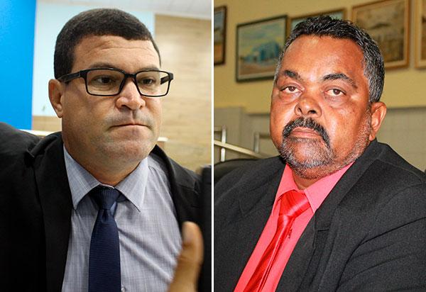 Brumado: Rey de Domingão, da oposição, e Zé Carlos de Jonas do grupo do prefeito lutam pela presidência da Câmara