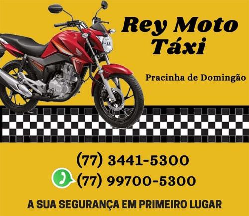 Precisou de Moto Táxi - chame Rey Moto Táxi