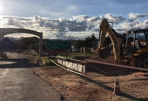 Rio de Contas: prefeitura fecha entradas da cidade, mantendo apenas a sentido Livramento