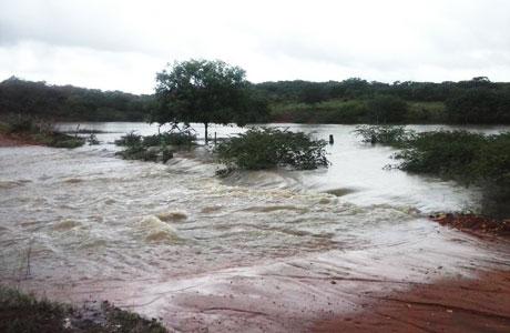 Chove em grande parte da região Sudoeste da Bahia