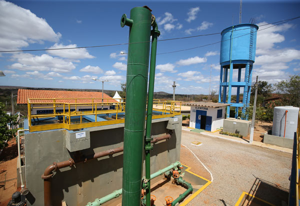 Governo entrega obra de abastecimento de água em Rio do Antônio