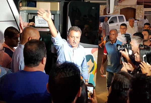 Guanambi, Caetité, Rio do Antônio, Brumado, Aracatu e Anagé vão receber a comitiva de Rui Costa nesta sexta (14)