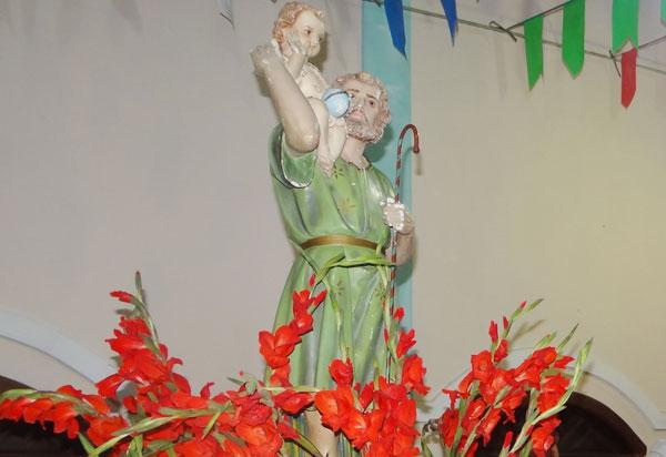 Paróquia Nossa Senhora da Conceição Aparecida e São Cristóvão realiza festejo ao seu Copadroeiro